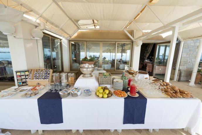 Hotel Vicino Parco del Circeo colazione Buffet