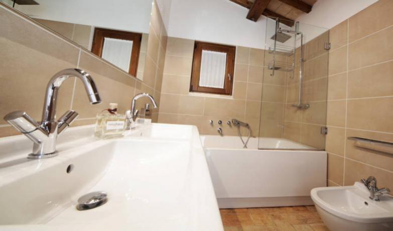 Bagno Suite in Tenuta vicino Orvieto, Umbria