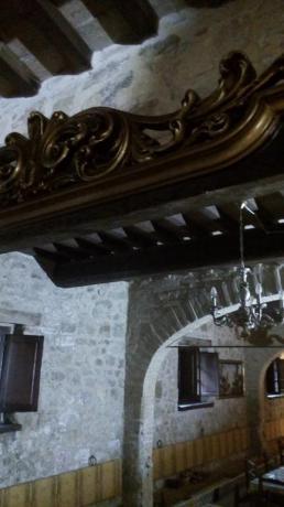 Sala ristorante agriturismo vicino Assisi