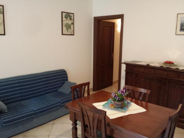 Appartamento Montefalco con soggiorno