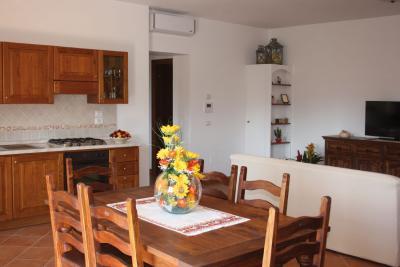 appartamento con salone e cucina attrezzata