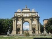 Arco Piazza Delle Libertà, Libery square