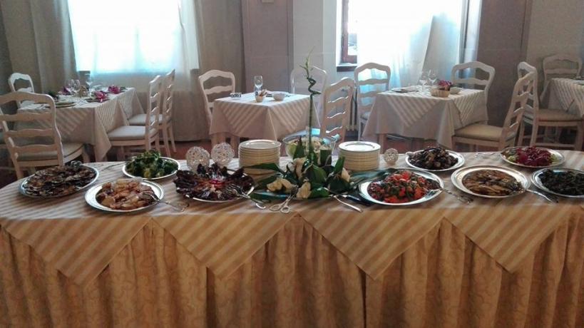 Prima Colazione in hotel a Fiuggi