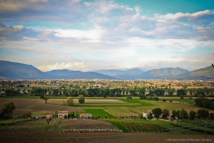 B&B con vista panoramica sulla valle