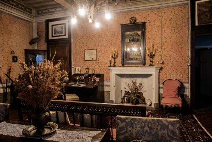 Villa ad Arezzo romantica con ampio soggiorno