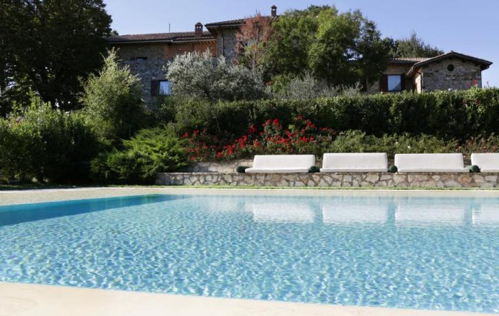 Tenuta deluxe con piscina Umbria Resort Orvieto