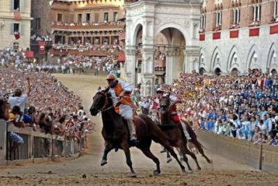 Hotels during the Siena Palio Horese-race Events