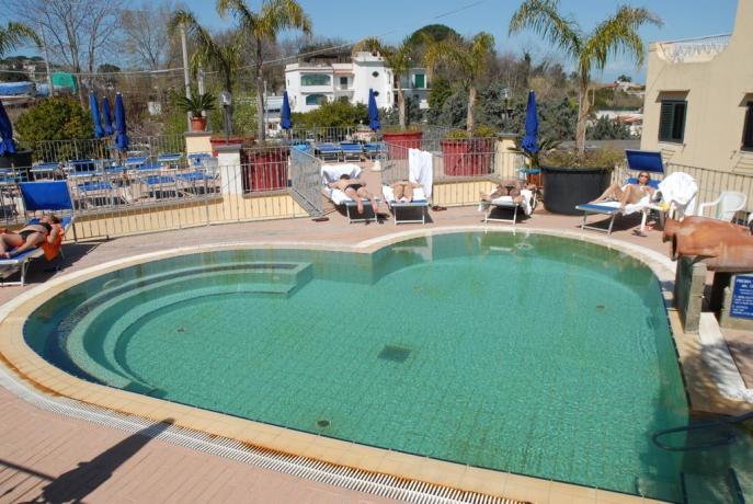 Piscina termale esterna Cuore, Hotel Ischia