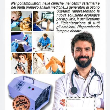 Macchina per Ozono per sanificazione: Ambulatorio-Veterinari-Sala-attesa