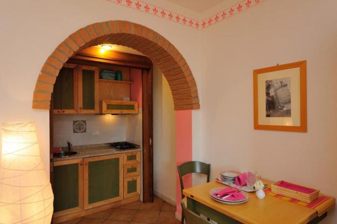 Appartamento 4persone con Aria-Condizionata Tavolo-Sedie