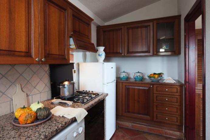 Appartamenti I Graniti con cucina vicino Cala Ginepro