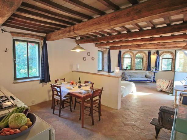 Appartamento con cucina abitabile a Umbertide