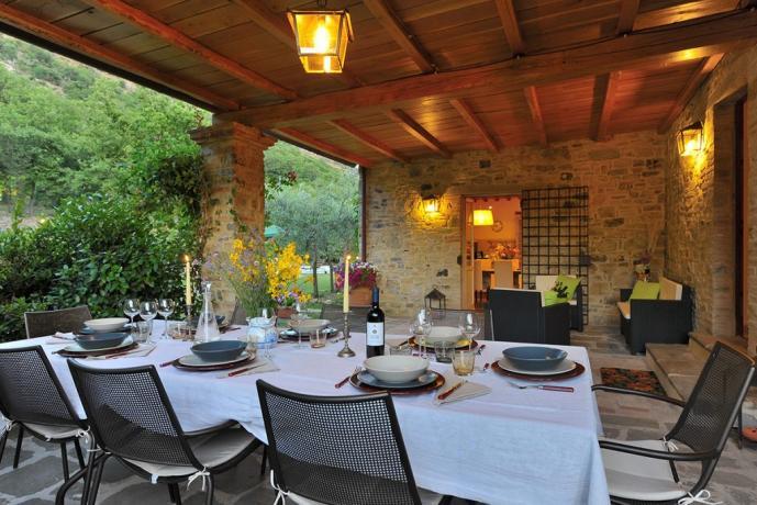 Villa in Umbria con possibilità cenare fuori