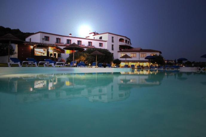 piscina dell'albergo panorama ad olbia