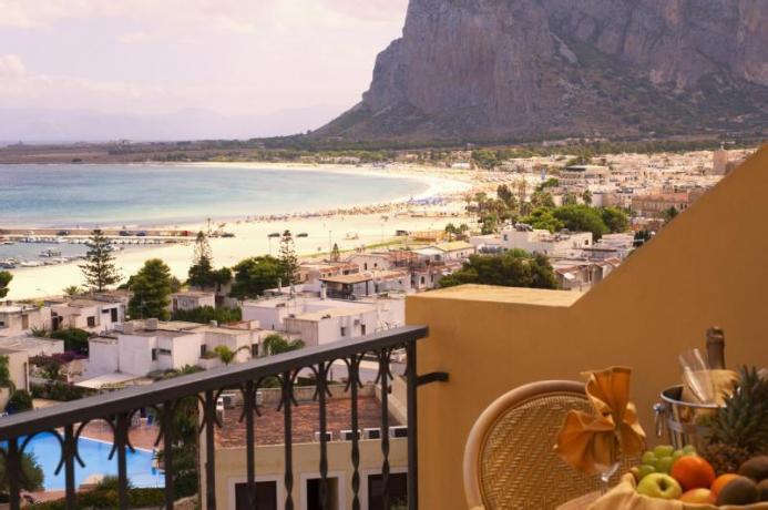 Hotel panoramico su San Vito lo Capo