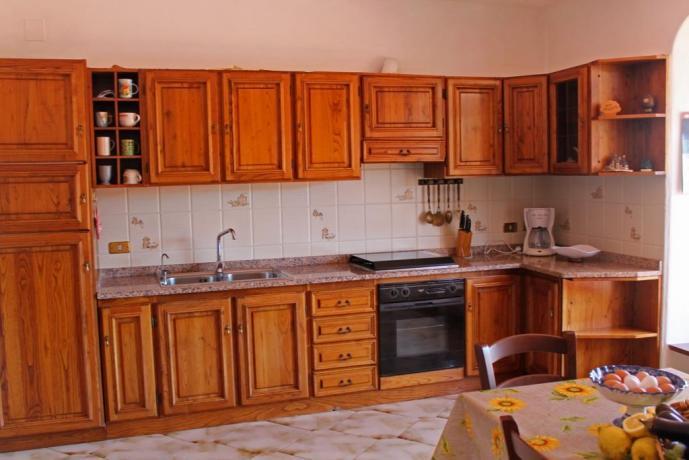Cucina appartamento casa vacanze Barano d'Ischia