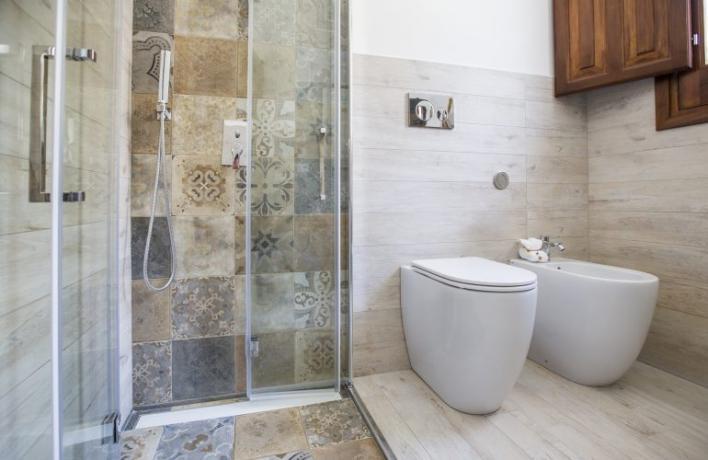Casa vacanze San-Vito-lo-Capo bagno privato box doccia