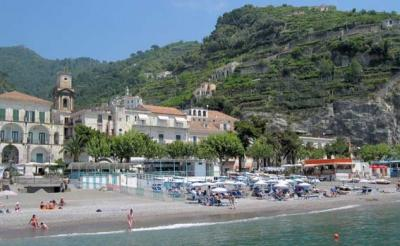 Hotels on the Beaches, Coast of Amalfi