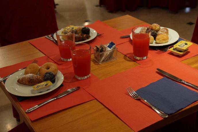 Colazione a buffet Hotel per Gruppi tra Perugia/Assisi