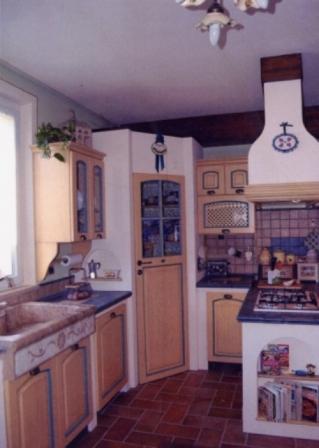 Offerta cucina finta muratura Calliope Cucine Legno Massello ...