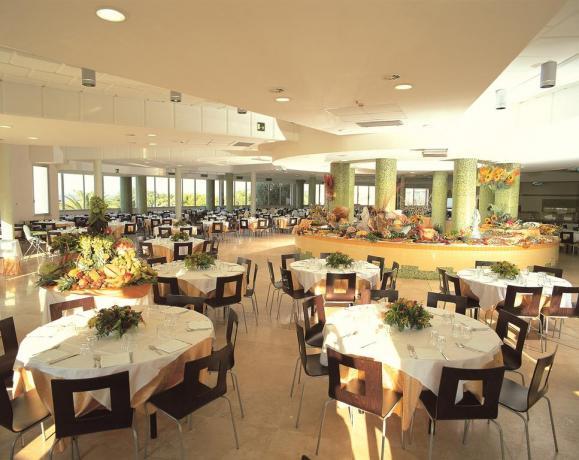 Sala Ristorante  buffet e senza glutine