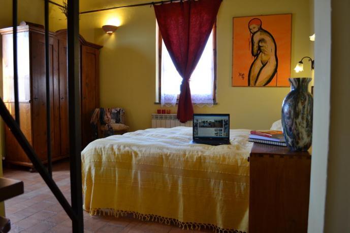 Camere accoglienti ideale per famiglie in Umbria