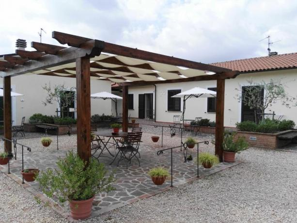 Patio Esterno con  Gazebo