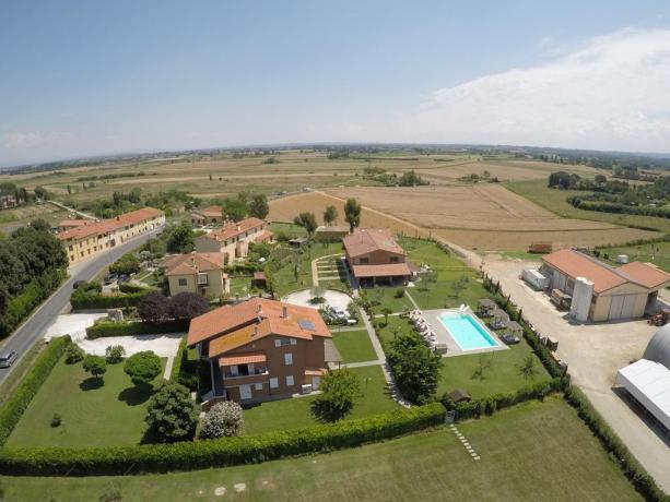 Appartamenti vacanza con Piscina vicino Pisa