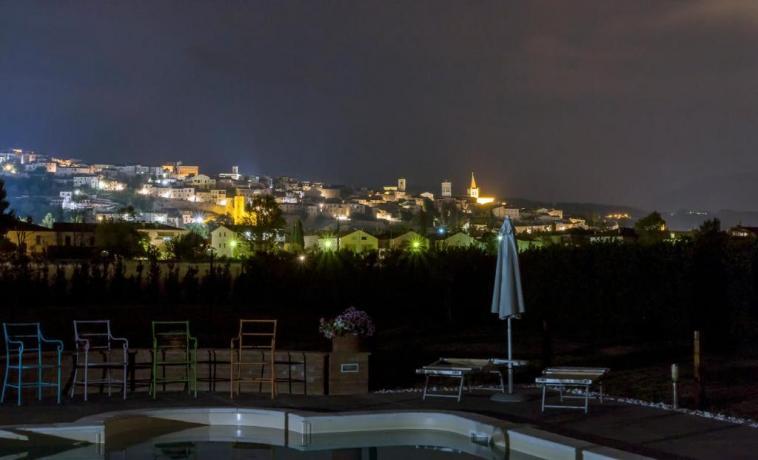 Vista Notturna dal Residence