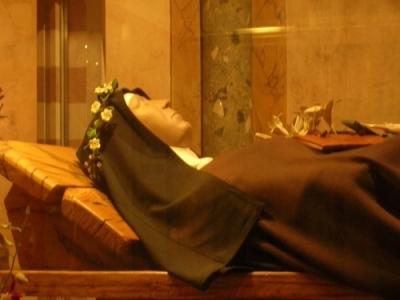 Spoglie di Santa Chiara