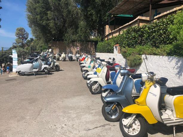 Affitto e Noleggio Scooter in Villaggio-Palinuro nel Cilento