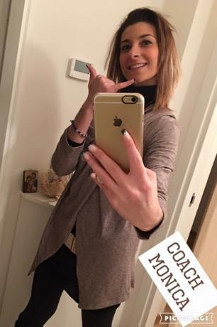 Fare selfie su un corpo finalmente perfetto!!!