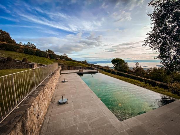 Villa esclusiva, 3 camere panoramiche Lago Trasimeno