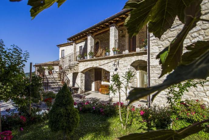Agriturismo storico Abbateggio Parco della Majella Abruzzo