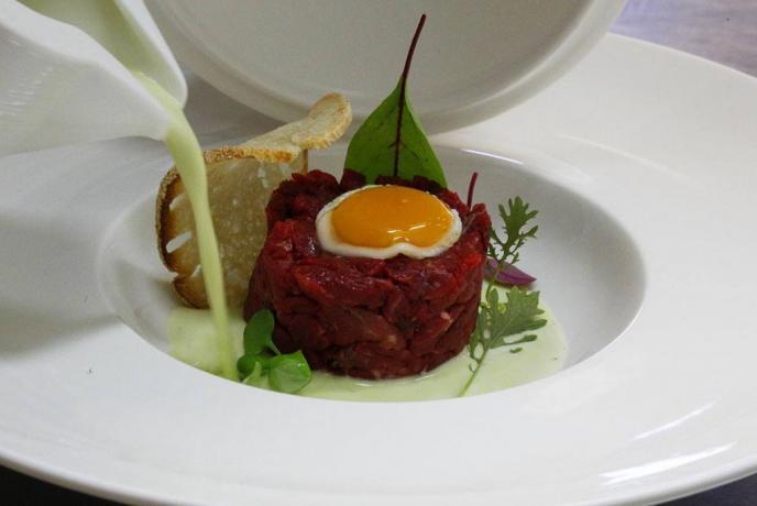 piatto ristorante hotel Ascea Mare