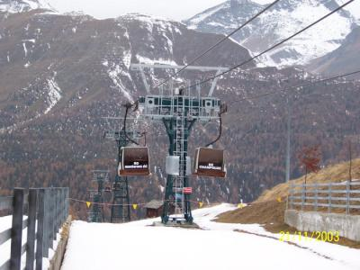 Modern and safe skilifts in Champoluc, Ayas