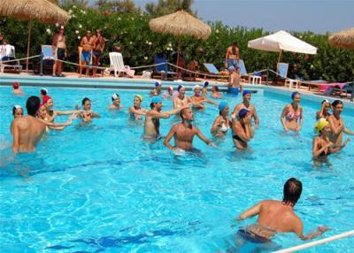 Animazione in piscina e spiaggia