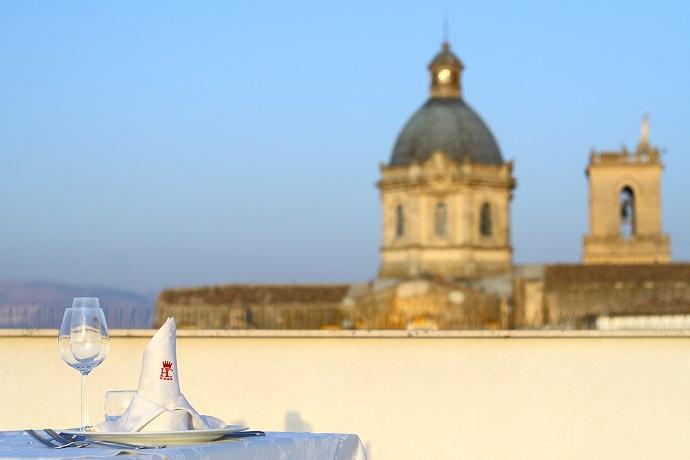 Terrazza panoramica ideale per aperitivi