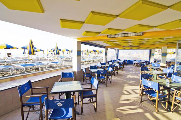 Bar sulla Spiaggia al Villaggio Residence