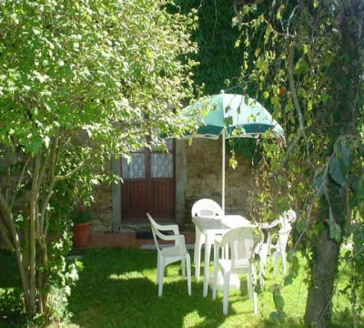 Garden and equipped areas outside