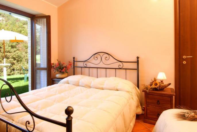 Camera da letto Trilocale Casale delle Rose