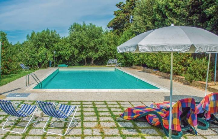 Appartamenti-Vacanza: Grande Piscina immersa nel verde