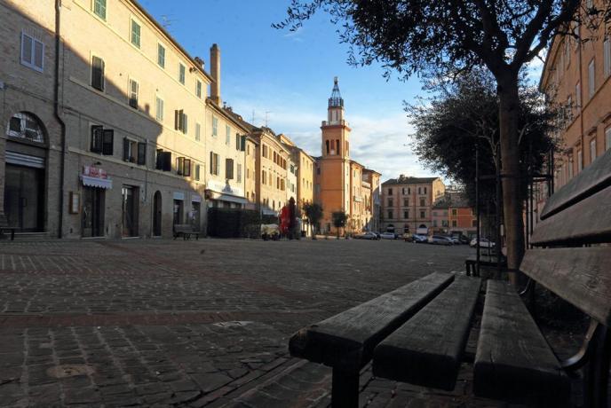 Piazza Mazzini-Macerata
