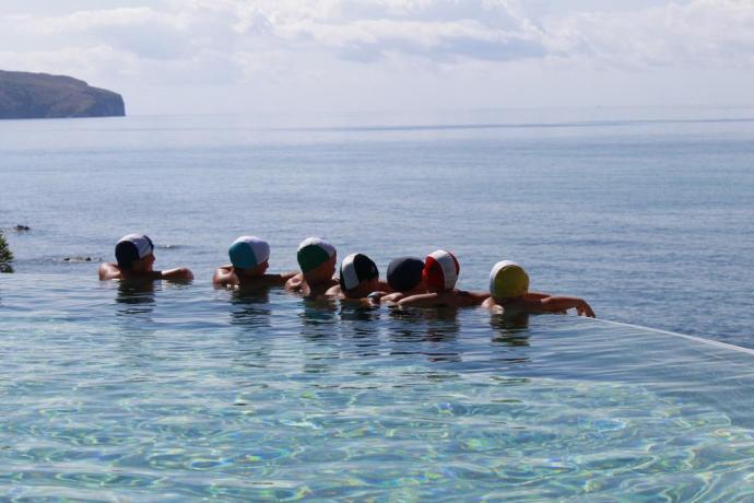 Splendida piscina per gruppi o famiglia Hotel Palinuro