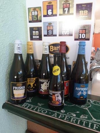 Ampia scelta di Birre Artigianali tipiche Sarde