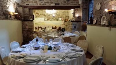 4 stars restaurant into the hotel Castello Medioevale