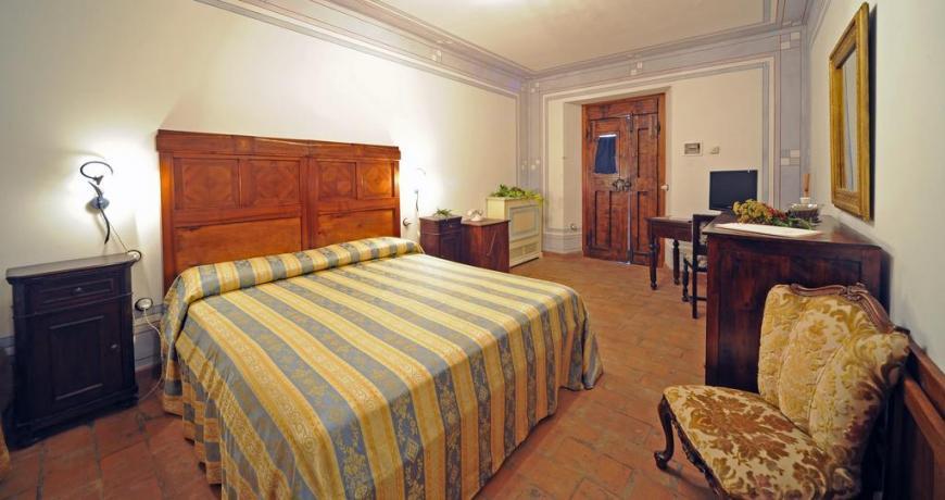 Camera matrimionale con salotto Agriturismo in Valnerina