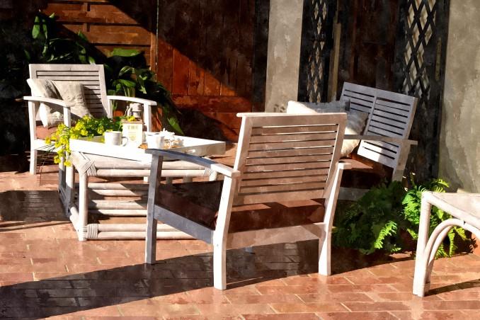 Veranda Casale Montecchio vicino Orvieto
