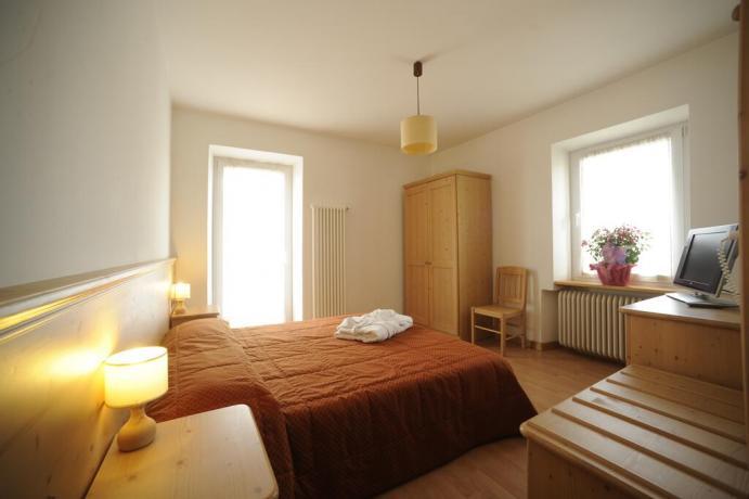 Camera hotel 3 stelle vicino piste scii Lavarone-Trento