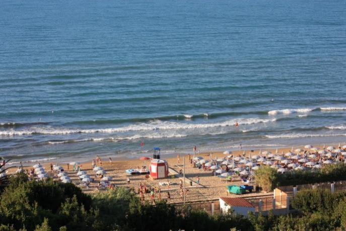Hotel con spiaggia privata in Puglia